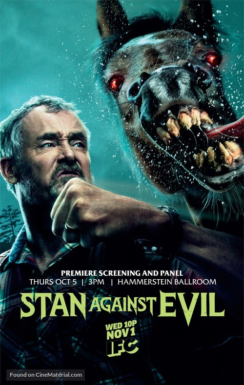 """Stan Against Evil"" - Movie Poster"