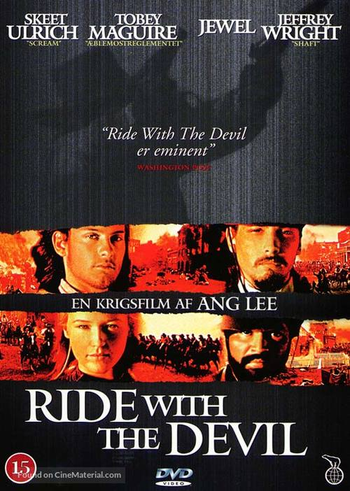 ride with the devil danish dvd cover