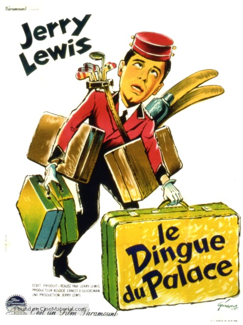 The Bellboy - French Movie Poster