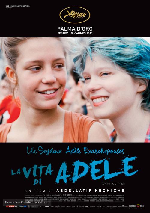 La vie d'Adèle - Italian Movie Poster
