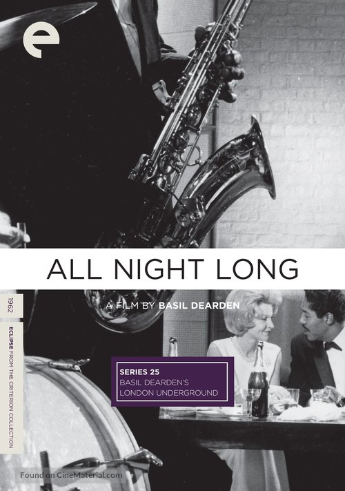 All Night Long - DVD movie cover