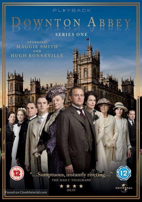 """Downton Abbey"" - British DVD movie cover"