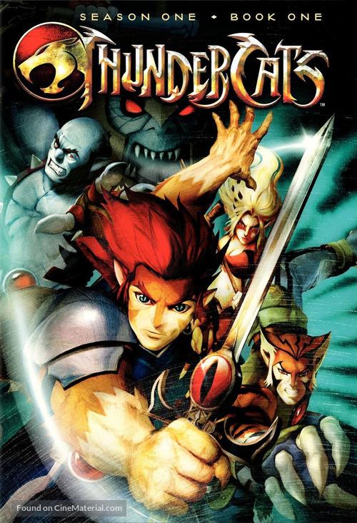 """""""Thundercats"""" - DVD movie cover"""