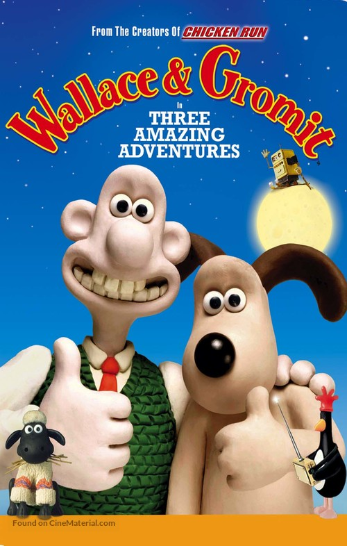Wallace & Gromit: The Best of Aardman Animation - Movie Cover