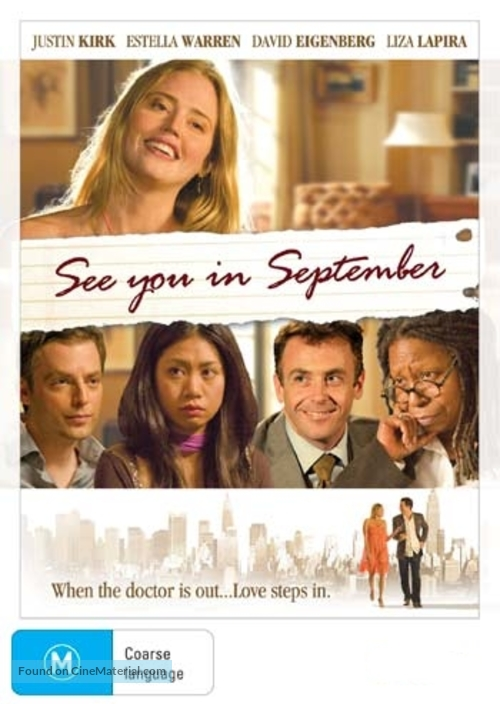 See You in September - Australian Movie Cover