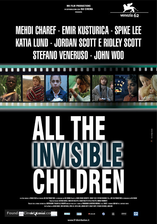 All the Invisible Children - Italian Movie Poster