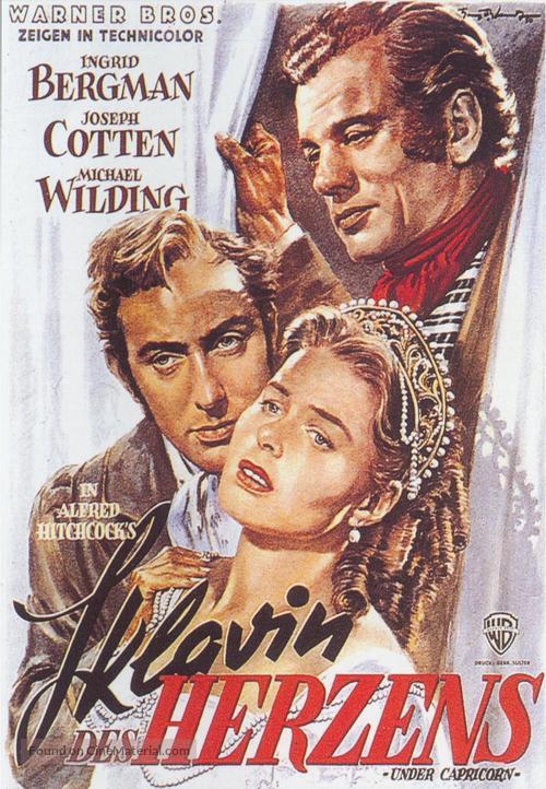 Under Capricorn - German Movie Poster