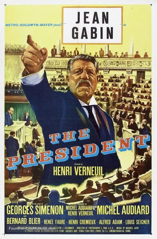 Le président - Movie Poster