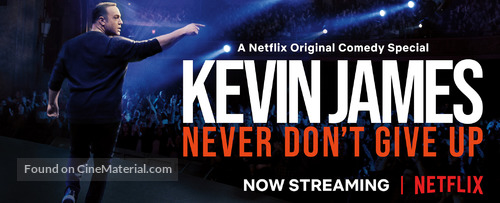 Kevin James: Never Don't Give Up - Movie Poster