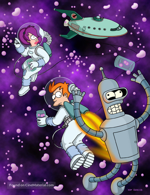 """Futurama"" - Key art"