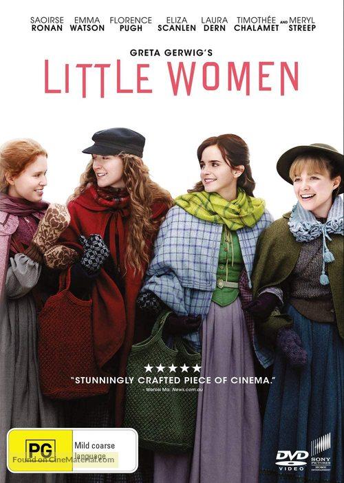 Little Women - Australian DVD movie cover