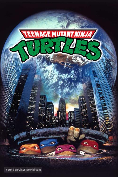 Teenage Mutant Ninja Turtles - DVD cover