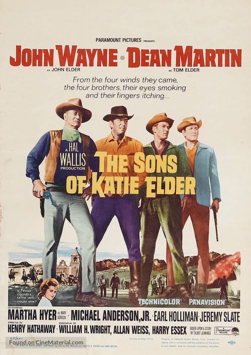 The Sons of Katie Elder - Movie Poster