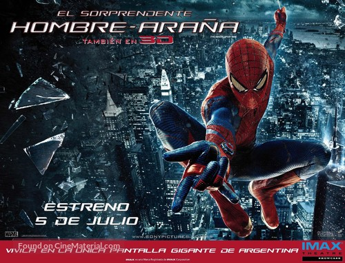 The Amazing Spider-Man - Argentinian Movie Poster