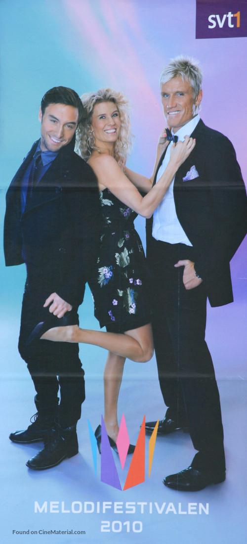 """Melodifestivalen 2010"" - Swedish Movie Poster"