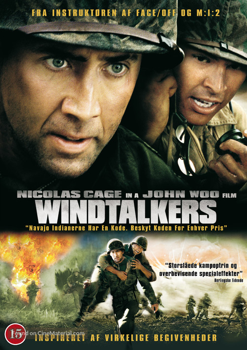 Windtalkers - Danish DVD movie cover