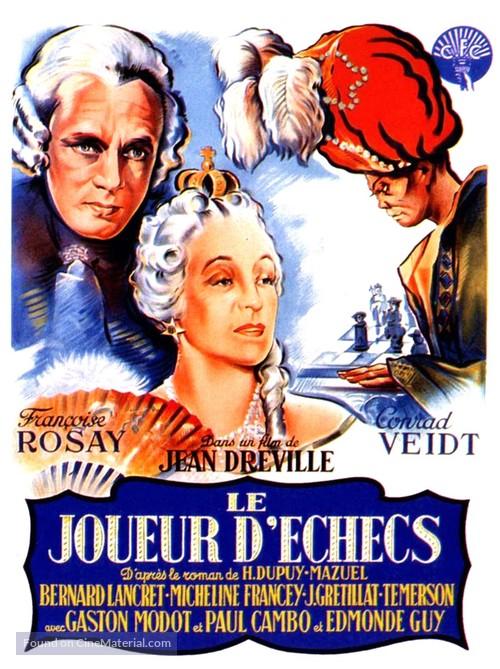 Le joueur d'échecs - French Movie Poster