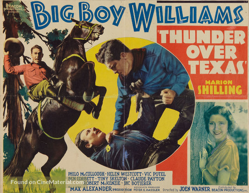 Thunder Over Texas - Movie Poster