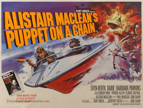Puppet on a Chain - British Movie Poster