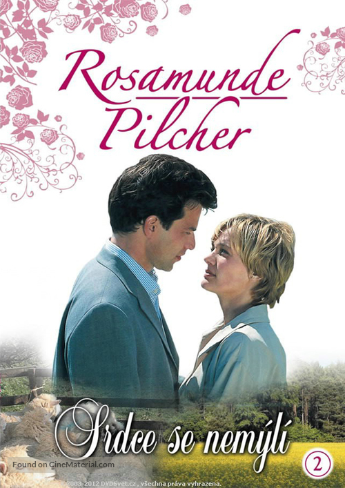 """Rosamunde Pilcher"" - Czech DVD movie cover"