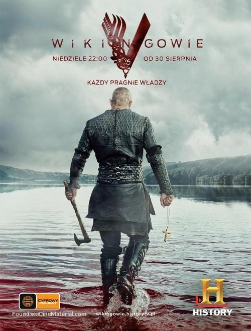 """Vikings"" - Polish Movie Poster"