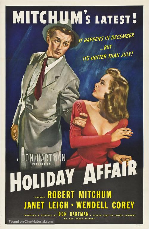 Holiday Affair - Movie Poster