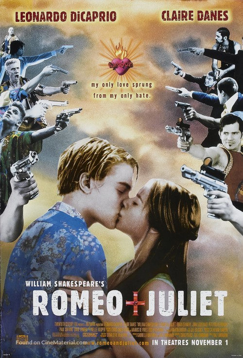 Romeo And Juliet - Advance poster