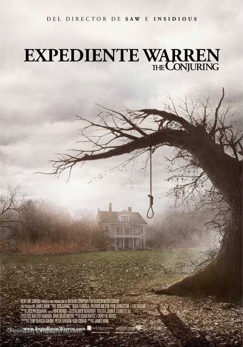 The Conjuring - Spanish Movie Poster