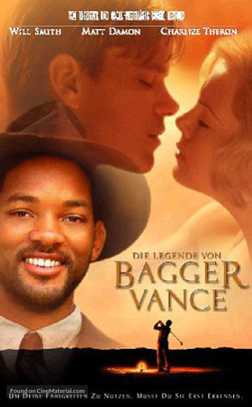 The Legend Of Bagger Vance - German Movie Cover