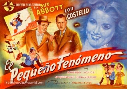 Little Giant - Spanish Movie Poster