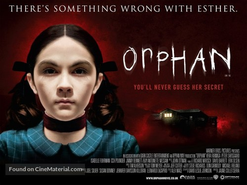 Orphan - British Movie Poster