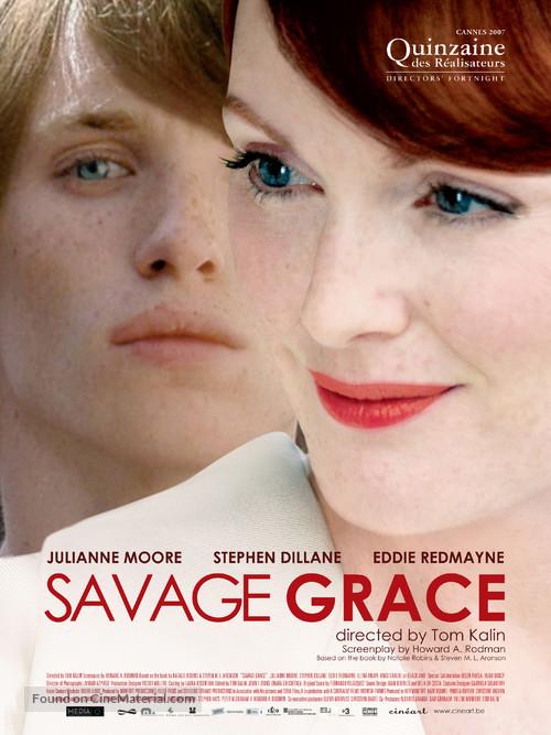 Savage Grace - Belgian Movie Poster