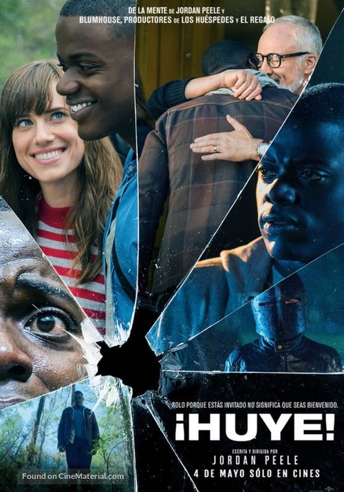 Get Out - Peruvian Movie Poster