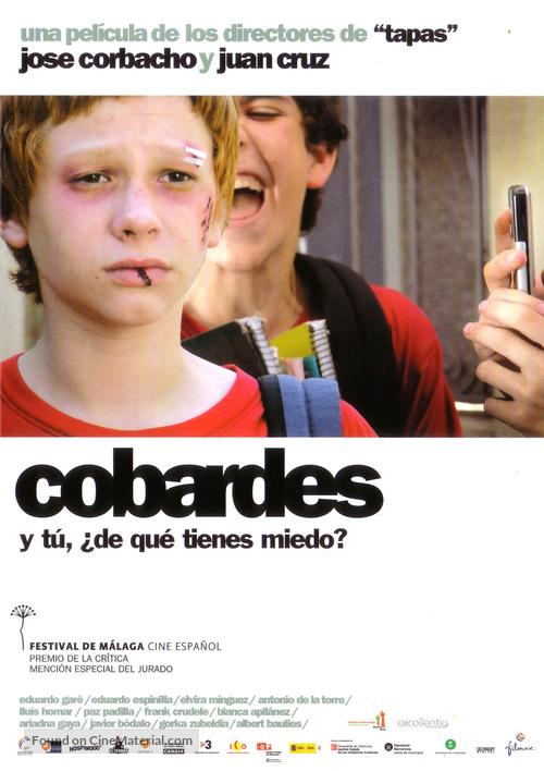 Cobardes - Spanish Movie Poster