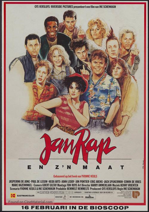 Jan Rap en z'n maat - Dutch Movie Poster