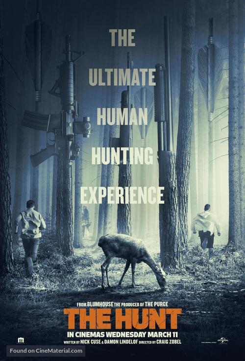 The Hunt - British Movie Poster