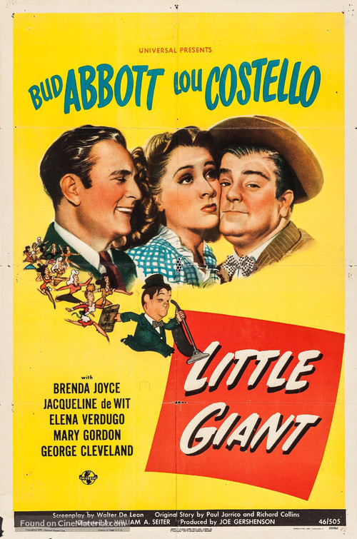 Little Giant - Movie Poster