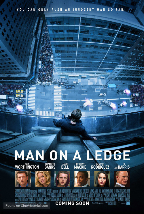 Man on a Ledge - Movie Poster