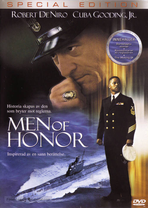 Men Of Honor - Swedish DVD movie cover