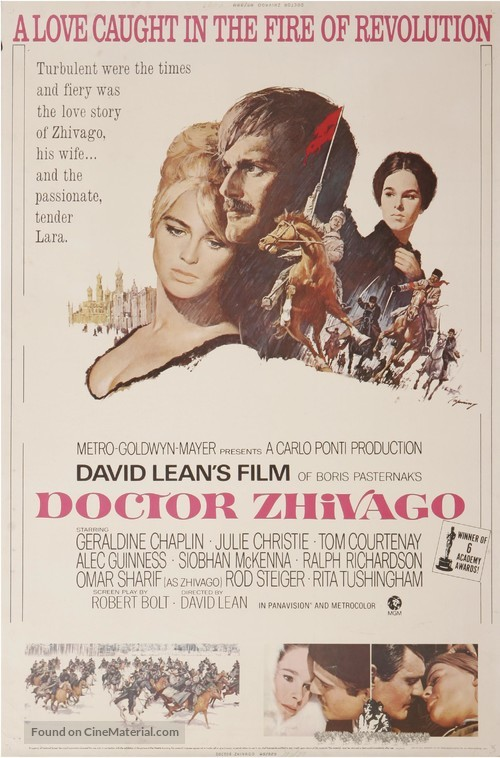 Doctor Zhivago - Movie Poster