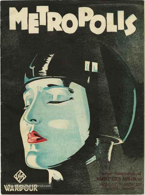 Metropolis - British poster