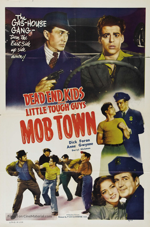 Mob Town - Movie Poster