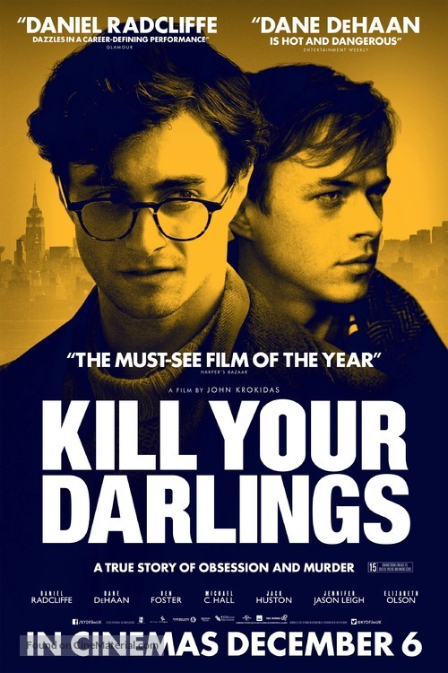 Kill Your Darlings - British Movie Poster