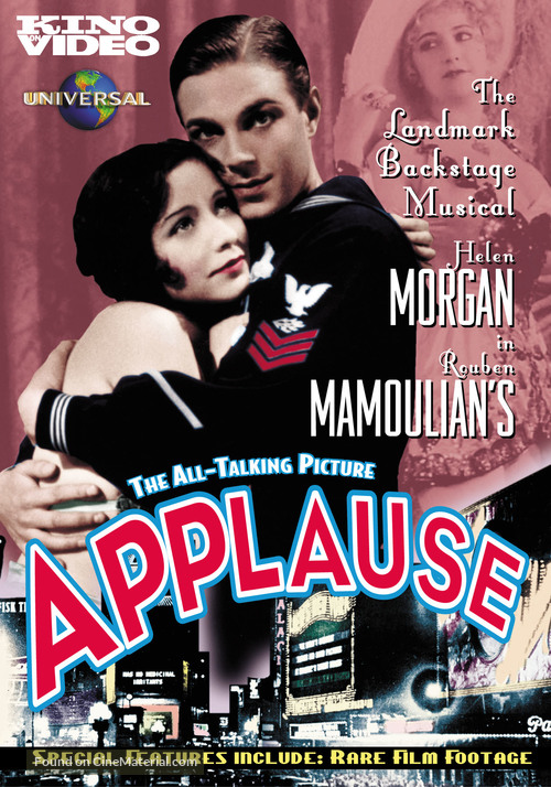Applause - DVD movie cover