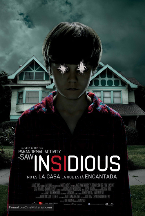 how to say insidious in spanish