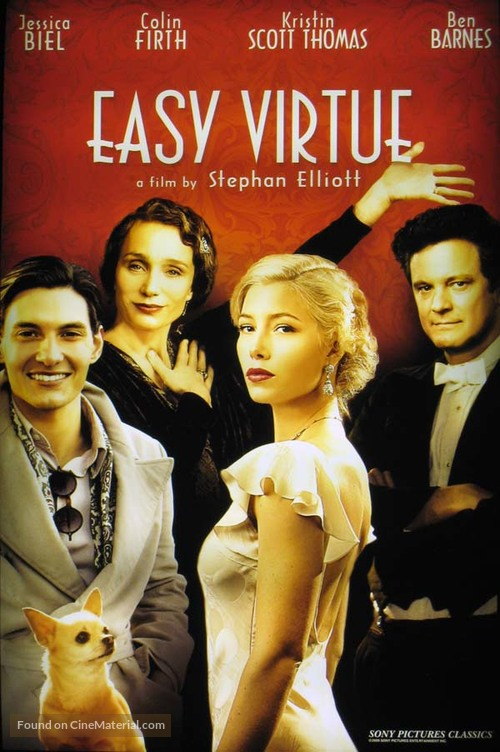 Easy Virtue - Movie Cover