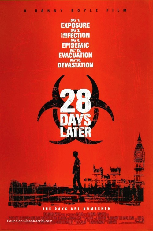 28 Days Later... - Movie Poster