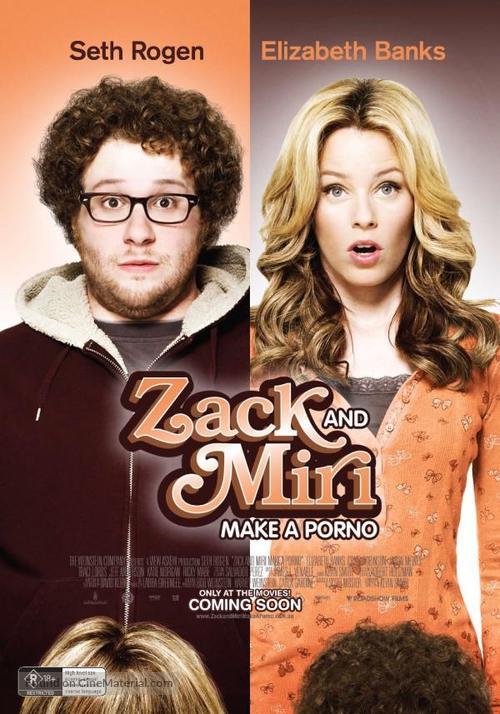 Zack and Miri Make a Porno - Australian Advance poster