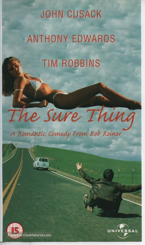 The Sure Thing - British VHS cover