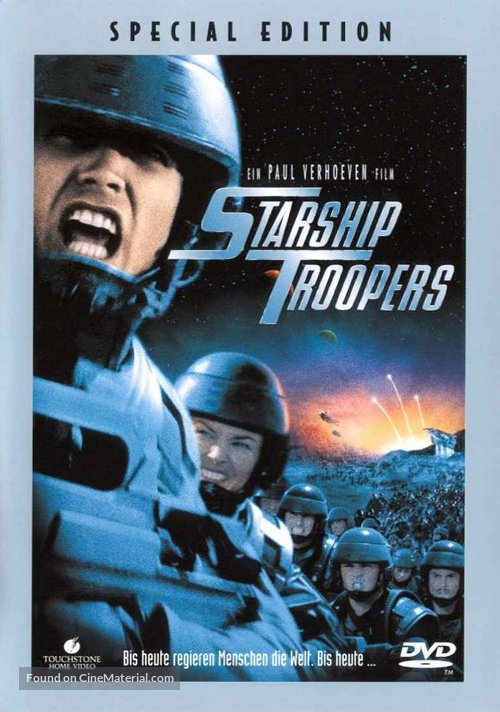 Starship Troopers - German DVD movie cover